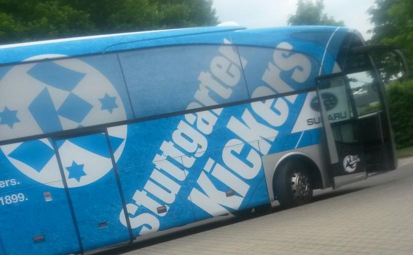 Mit zwei Pokalfinal-Niederlagen wieder nach Hause: Die Kickers unterliegen dem VfB mit der U17 und U19