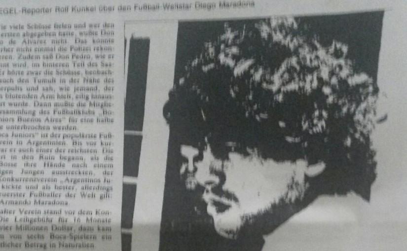 Ein Lebensprojekt: Wer Maradonas Manager war, der hat bereits alles erlebt! Jorge Cyterszpiler prägte das Beratergeschäft wie kein anderer