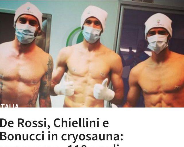 Italienische Nationalelf: eiskalt vor dem Tor! Azzurri schwören auf einen Regenerations-Trick nach der Belastung