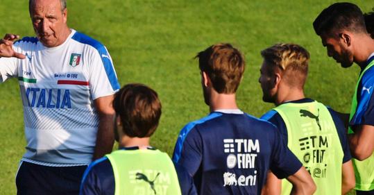 Die Squadra Azzurra unter Giampiero Ventura: Mit 1:3 gegen Frankreich gestartet, aber Torwart Donnarumma gehört wohl die Zukunft nach Buffon