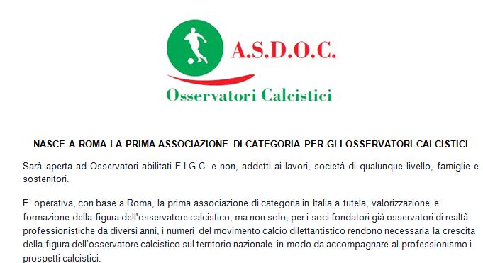 Kurzmitteilung/Info-News +++aktuell+++ Italienische Beobachter und Scouts tun sich zusammen – für eine bessere Kontaktpflege und einen professionellen Austausch!