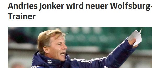Gelungener Coup beim VfL Wolfsburg:  Kaum wurde Valérien Ismaël geschasst, präsentiert der Sportvorstand in der VW-Stadt Andries Jonker! Der niederländische Coach ist ein Verfechter des Offensivspiels, und ein Experte was internationale Talente betrifft