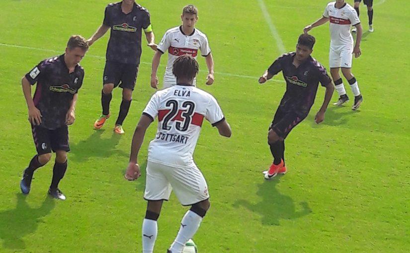 Ein paar U23-Teams sind noch recht aktiv: Das Baden-Württemberg-Derby entschied der kleine VfB gegen den SCF für sich