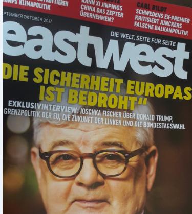"""Lifestyle, Freizeit, Wissen: Neues (altes) Magazin """"eastwest"""" auch wieder in deutschen Presse-Regalen. Das kompakte europäische Politik-und Nachrichtenheft bereichert die Medienlandschaft. Hier schreiben Wissenschaftler endlich einmal sachlich und spannend."""