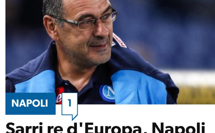 Trainer-Karrieren und Biografien: Maurizio Sarri – ein Banker auf Abwegen! Der Trainer des SSC brachte den Vesuv wieder zum Brodeln und Pep Guardiola lobt Sarris Spielweise in den höchsten Tönen