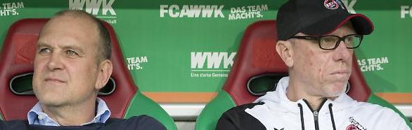 """Sportdirektoren und Kaderplaner: Sie entscheiden oft mehr über die Mannschaftszusammenstellung als die Trainer! Schmadtke trat freiwillig zurück, anscheinend um Trainer Stöger nicht """"opfern"""" zu müssen beim 1.FC Köln"""