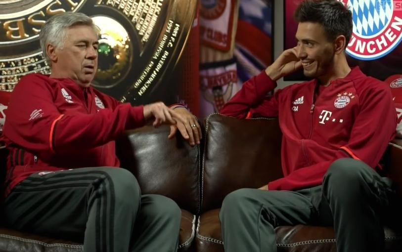 Trainer-Karriere, Biografien: Ein einmaliges Vater-Sohn-Gespräch unter Trainern. Wahrscheinlich wollte der FC Bayern Carlo Ancelotti nie richtig verstehen? Carlos Markenzeichen bleibt: in der Ruhe liegt die Kraft!