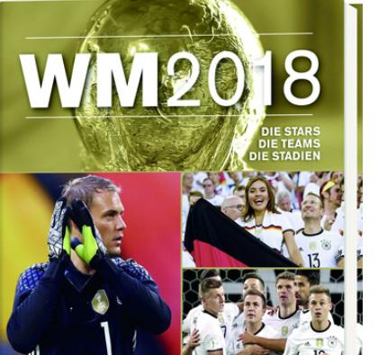 Fußball, Bücher: Wie, noch kein Weihnachtsgeschenk? Um dieses Buch kommen Sie ganz bestimmt nicht vorbei, wenn Sie für einen wahren Fußball-Fan noch eine angebrachte Lektüre suchen: schließlich steht die WM 2018 in Russland vor der Tür…